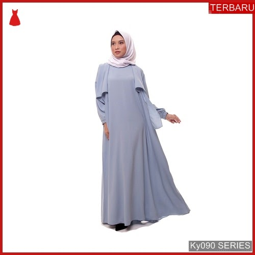 Ky090g46 Gamis Muslim Sellena Murah Layery Bmgshop Terbaru