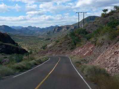 Road up to San Jose de Magdalen