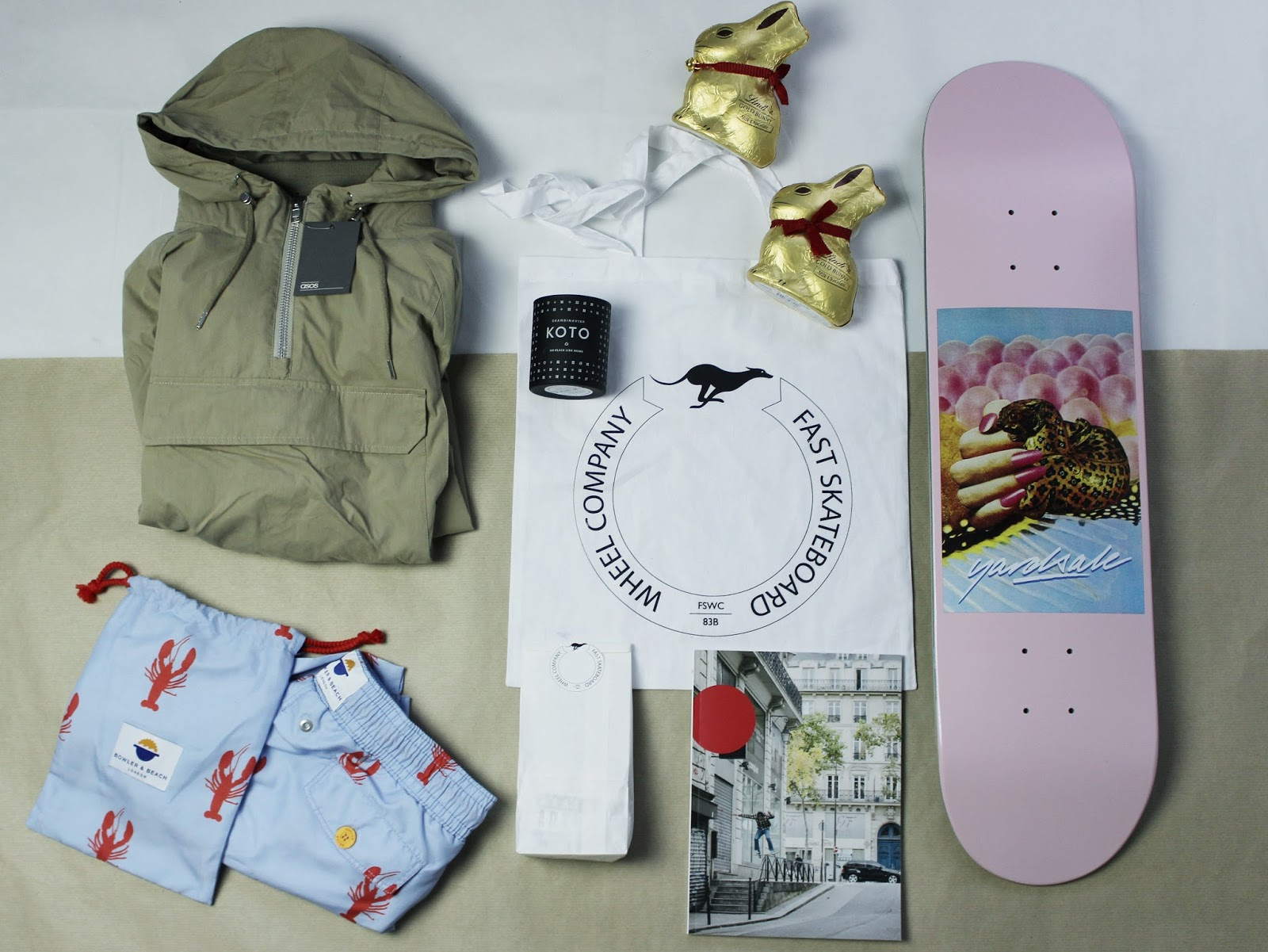 menswear style and skateboarding favourites from blogger James Brown