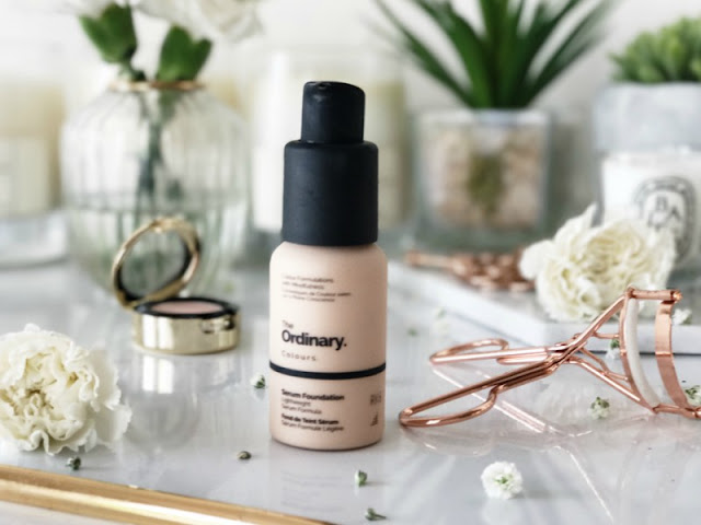The Ordinary Serum Foundation Review Swatch Swatches
