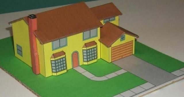 casa de papel Los Simpson