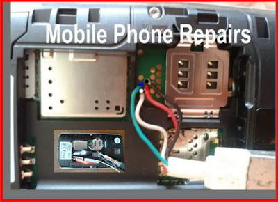 Pinout Nokia Asha 205, 2050 RM-862, RM-863, RM-864 USB Flash