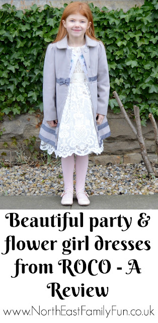 A Girl's Christmas Party or Flower Girl Dress from Roco - A Review