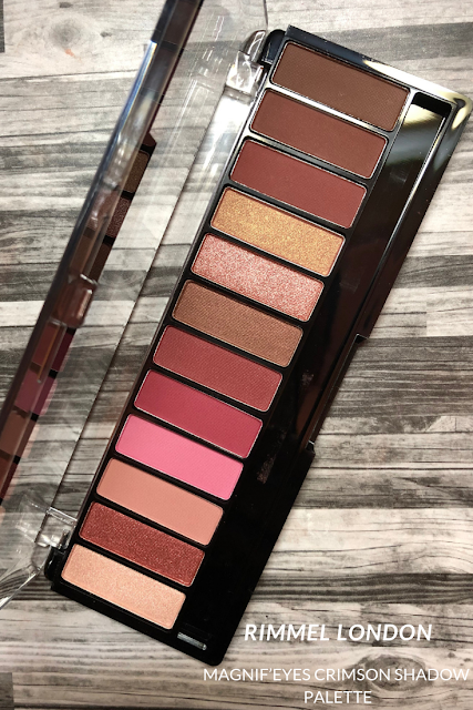 Rimmel London Magnif'eyes Crimson palette (Review and Swatches) Urban Decay Cherry Alternative