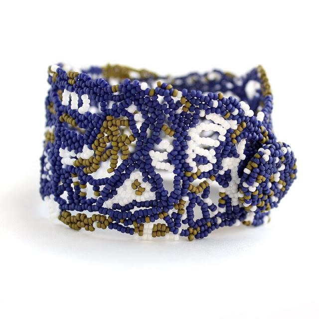 купить бохо шик украшения ручной работы из бисера в интернет магазине браслет
