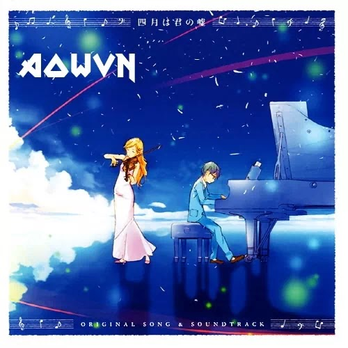 AowVN%2B%25282%2529 - [ Nhạc Nhật ] Shigatsu wa Kimi no Uso - Original Soundtrack | FLAC 16bit 44100 Hz- Anime Songs