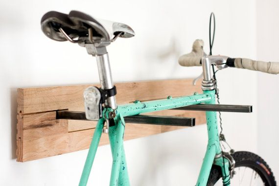 wall mounted bike on the lifestyle wall