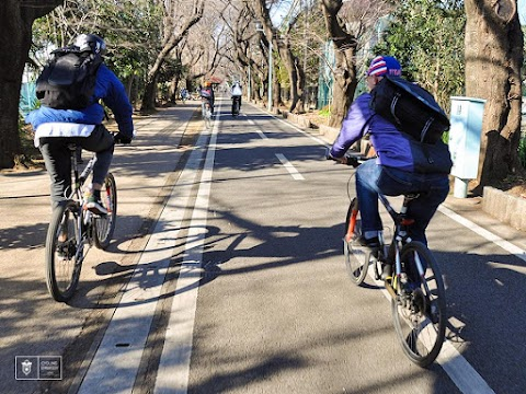 New Years Ride with the Cycling Embassy of Japan in Tokyo
