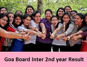 Goa Board Inter 2nd Year Result 2017