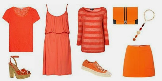 Anjuran Fashion : Orange is the New Black
