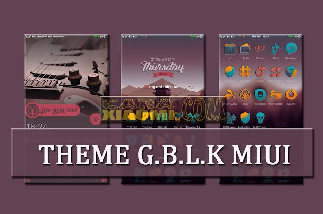 Themes MIUI G.B.L.K Mtz Update Tampilan Keren For Xiaomi