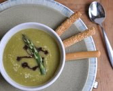 Easy-to-Elegant Asparagus Soup