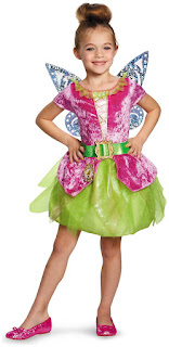 Girls Tinker Bell and The Pirate Fairy - Pirate Tink Kids Costume