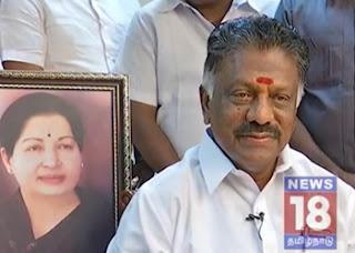 TN CM O PanneerSelvam's Exclusive Interview | News18 Tamil Nadu