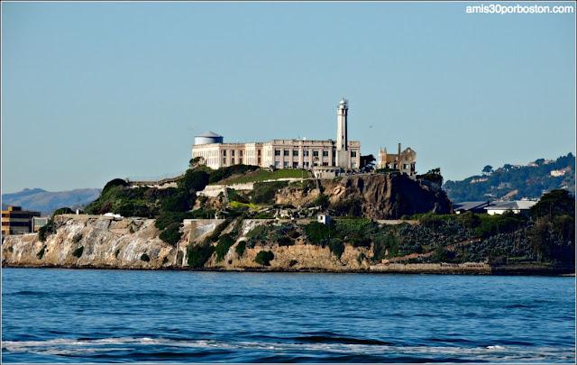 Isla de Alcatraz desde el Fisherman´s Wharf en San Francisco