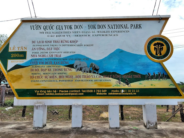 yok don national park sign vietnam