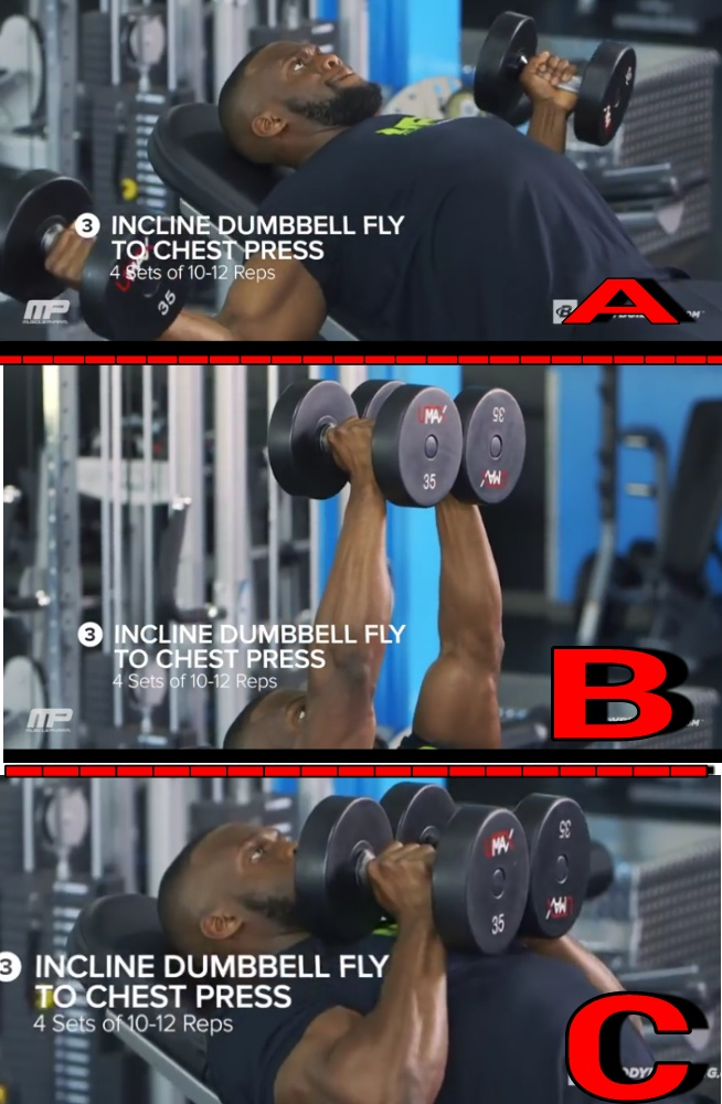 A high volume workout for bigger chest muscles - Nile