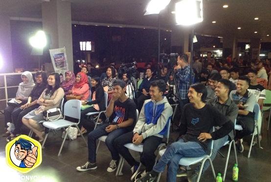 Penonton STAND UP SERU KOMPAS TV PALEMBANG