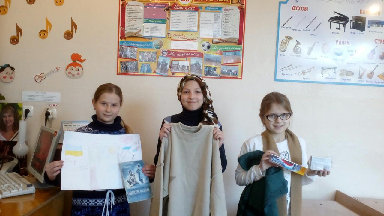 Novorichnі priv_tannya for the children of the child's buddy Prolіsok - zvіt 2