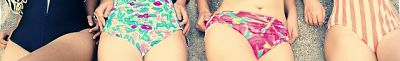 bikini, bañador, verano, mujer, cistitis