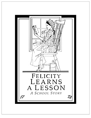 free American girl coloring pages Felicity