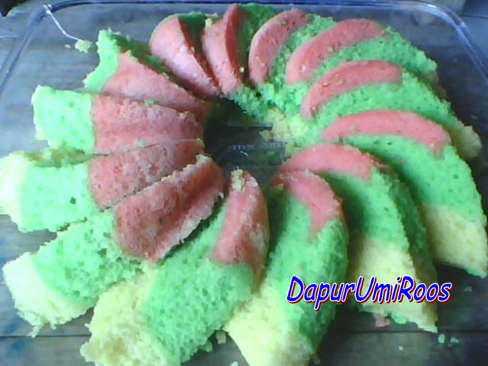 Resep Cake Kukus Pelangi Ncc: RESEP BOLU KUKUS LAPIS PELANGI