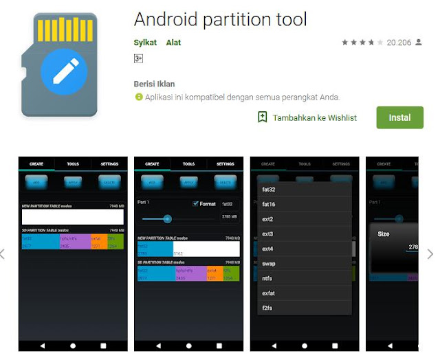 android-partition-tool