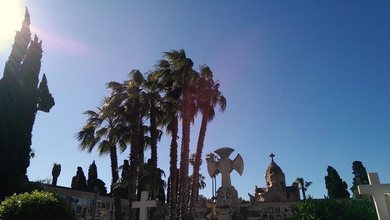 Cementiri de Les Corts, Barcelona, 2016