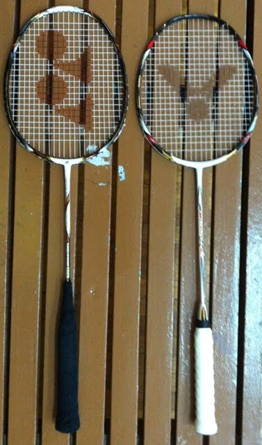 Badminton Research: Yonex Voltric 80 vs. Victor Meteor 80