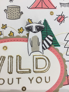 Wild About You Card . Pick A Pattern. Pieces and Patterns.