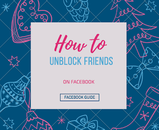 How to Unblock Someone & My Facebook friends list | Unblocked People List On FB