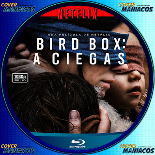 GALLETA BLURAY bird box a ciegas 2018 [COVER DVD BLURAY ]