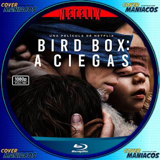 GALLETA BLURAY bird box a ciegas 2018 [COVER DVD BLURAY ]