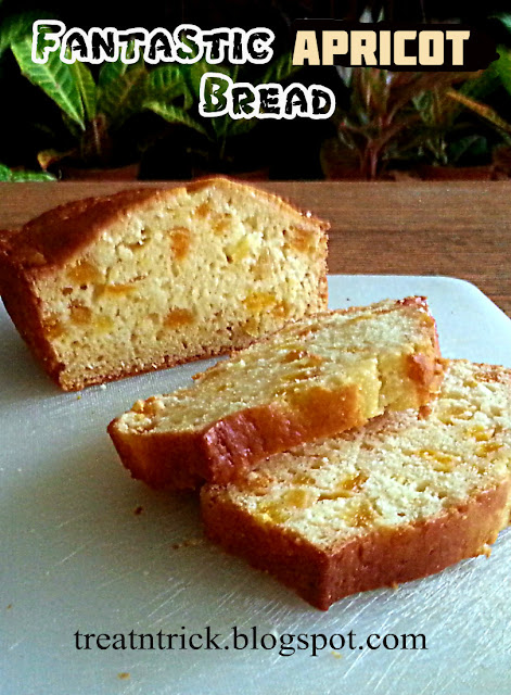 Fantastic Apricot Bread Recipe @ treatntrick.blogspot.com