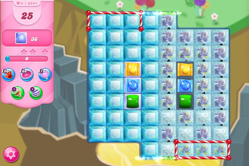 Candy Crush Saga level 6241