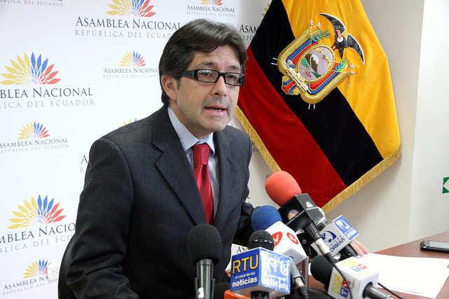 César Móntufar, candidato a la presidencia por Concertación Nacional