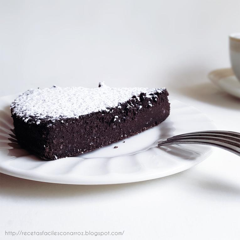 torta de chocolate sin gluten