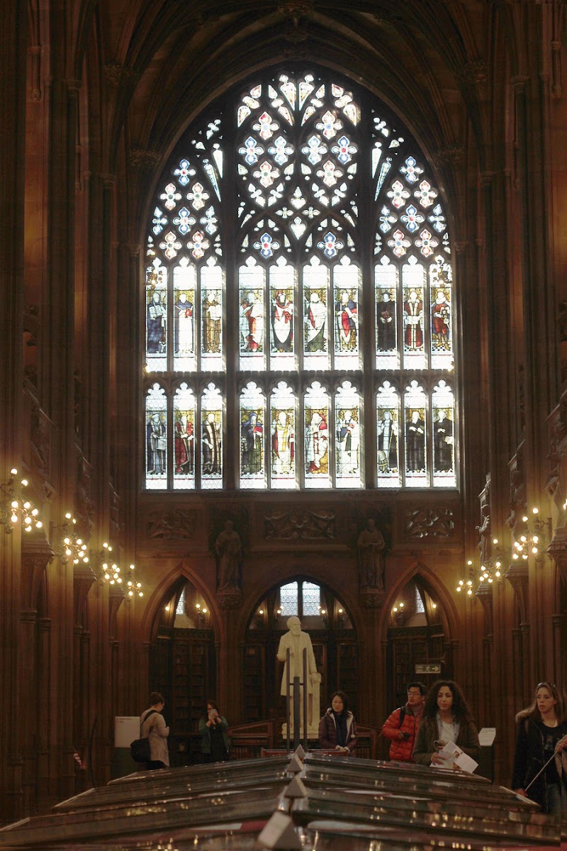 Manchester John Rylands Library | www.itscohen.co.uk