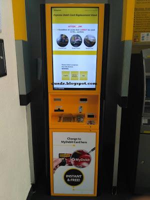 Panduan Mudah Tukar Kad ATM BankIslam / Maybank