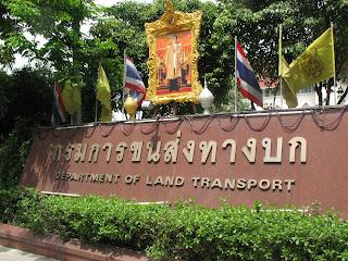 Department of Land Transport Bangkok