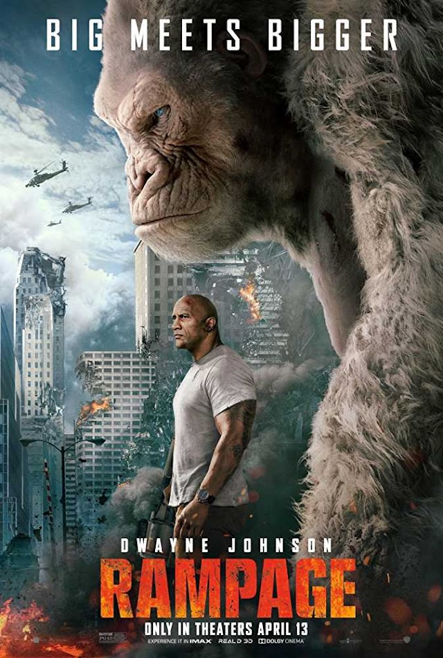 Watch Online & Download Rampage (2018) English 720p