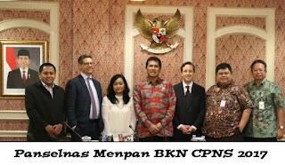 panselnas menpan bkn cpns 2017