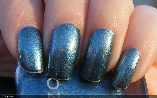 xoxoJen's swatch of Zoya Crystal