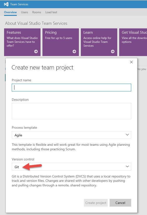 SQL Server SELECT: Visual Studio, TFS, Git, & GitHub