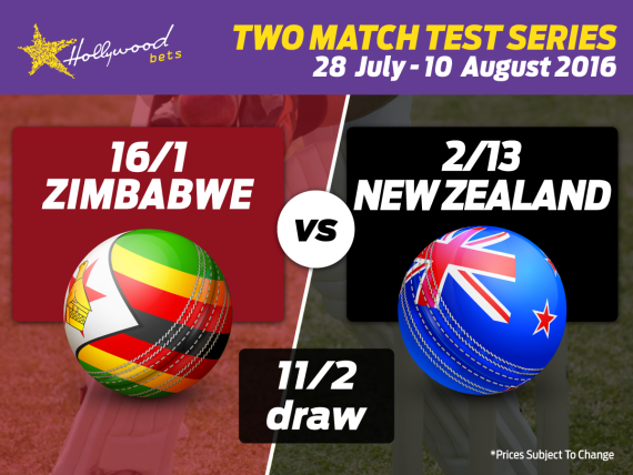 Zimbabwe and New Zealand go head to head in the first of two Test matches in Bulawayo.