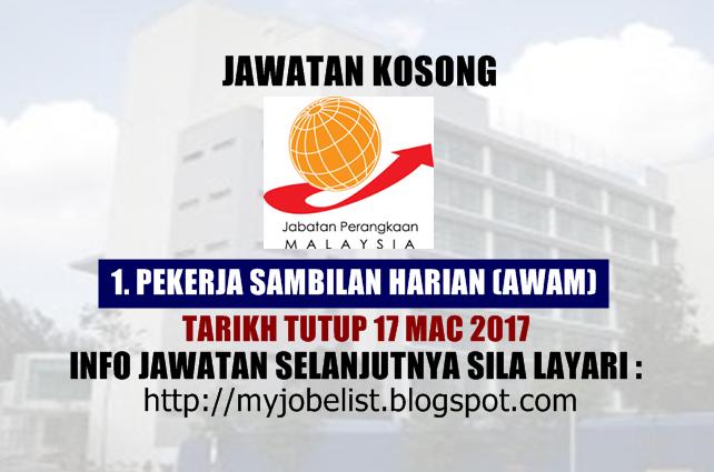 Jawatan Kosong Kerajaan Terkini Jabatan Perangkaan Malaysia 2017