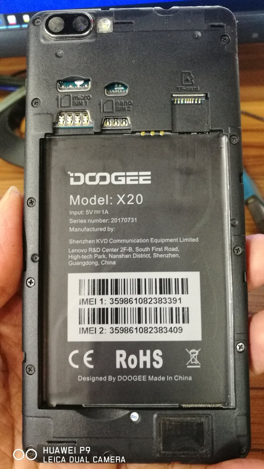 DOOGEE X20 FLASH FILE FIRMWARE MT6580 7 0 100% TESTED FILE BY MAMUN