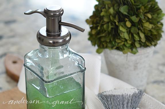 quick + easy dish soap dispenser