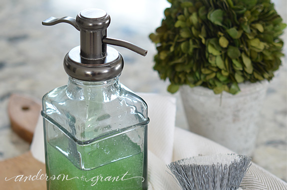 Kitchen Dish Soap Dispenser Trash Bin For Your Farmhouse Anderson Grant As The Snow Continues To Fall We All Need Do Little Things Add Happiness Our Day And Homes Something Simple Stopping At Store On