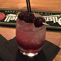 Photograph of the Artigiano's Bramble Cocktail